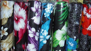 Rayon Tropical Print 1.2m wide Hibiscus Prints S
